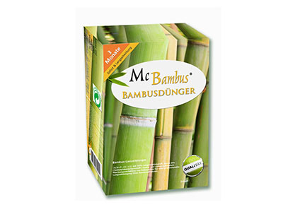 Mc-Bambus Bambusdünger - Substrate