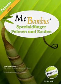 Mc-Bambus Mc-Bambus Spezialdünger mit Langzeitwirkung für Palmen