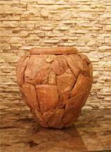 Mc-Bambus Skulpturen